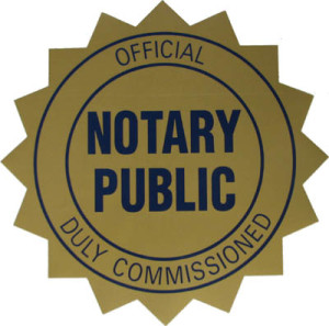 Lee Memorial Library Notary Public