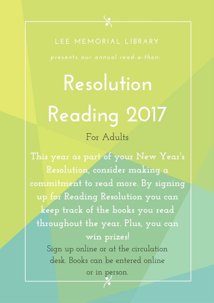 Resolution Reading 2017