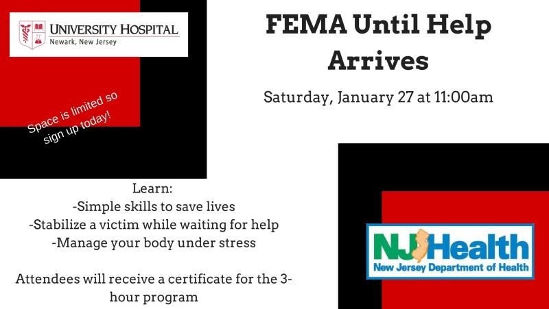 FEMA Until Help Arrives