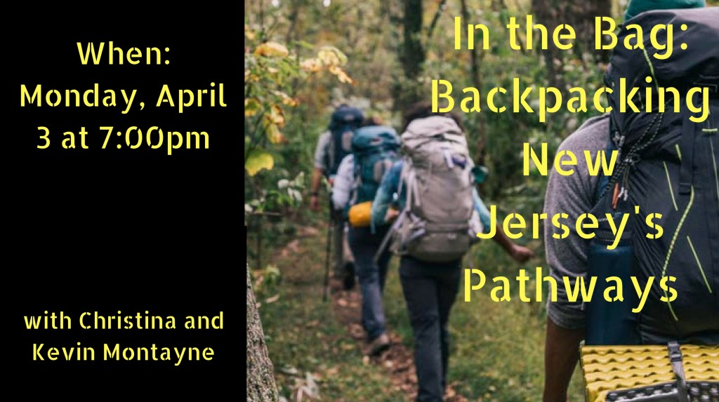 In the Bag_ Backpacking New Jersey's Pathways