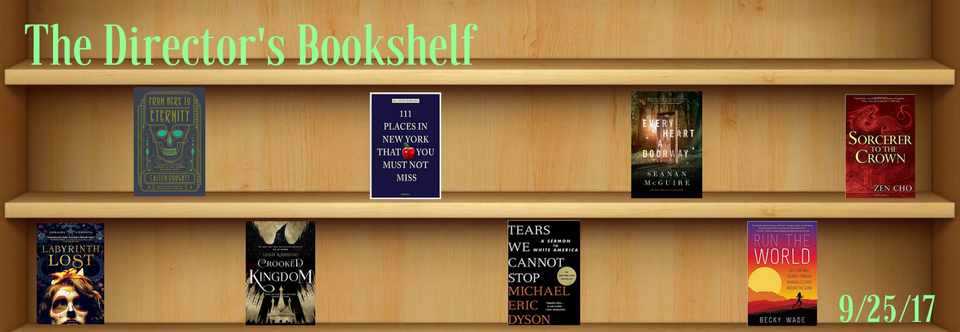 Director's Bookshelf 9/25