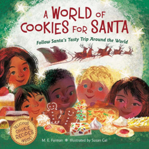 a world of cookies for santa