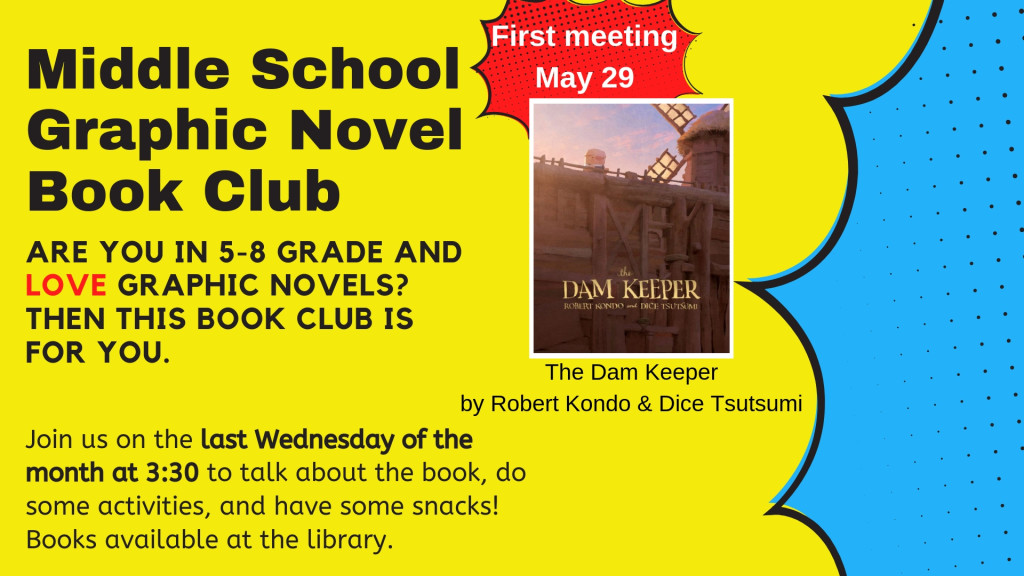 03- middle school graphic novel book club