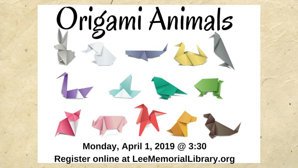 04 - Origami animals