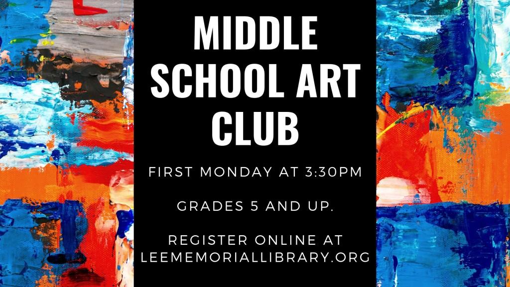 05 - Middle School Art Club
