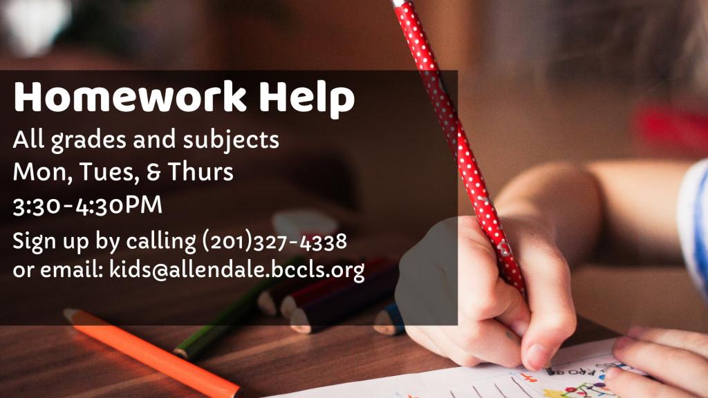 06 - Homework Help