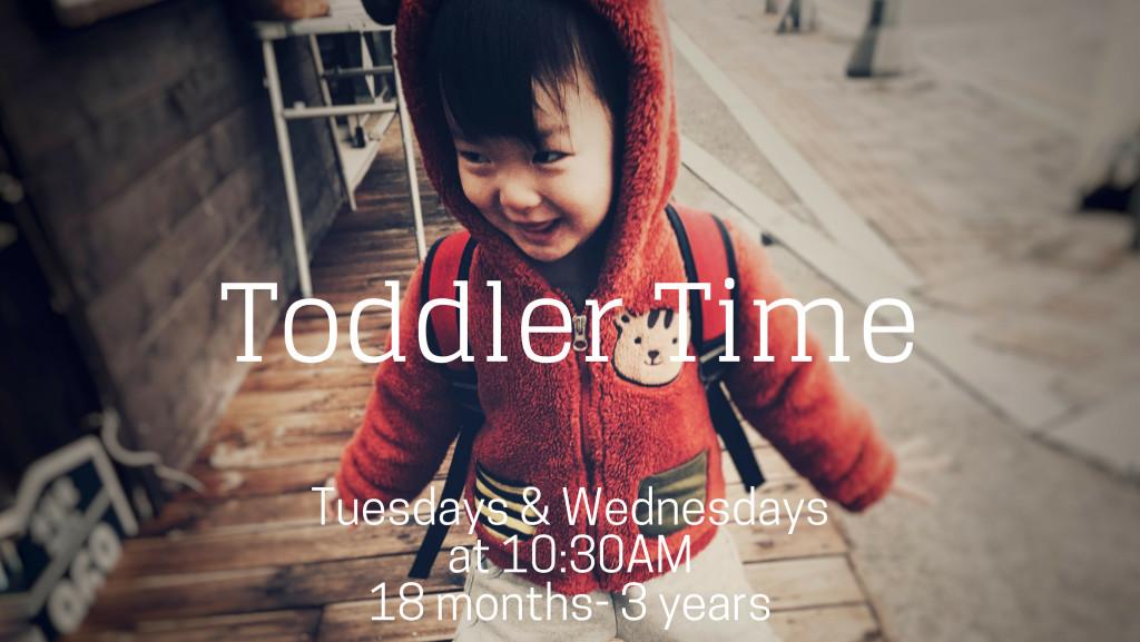 3 Feb Toddler Time
