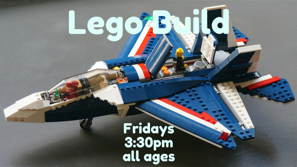 7 Jan Lego Build