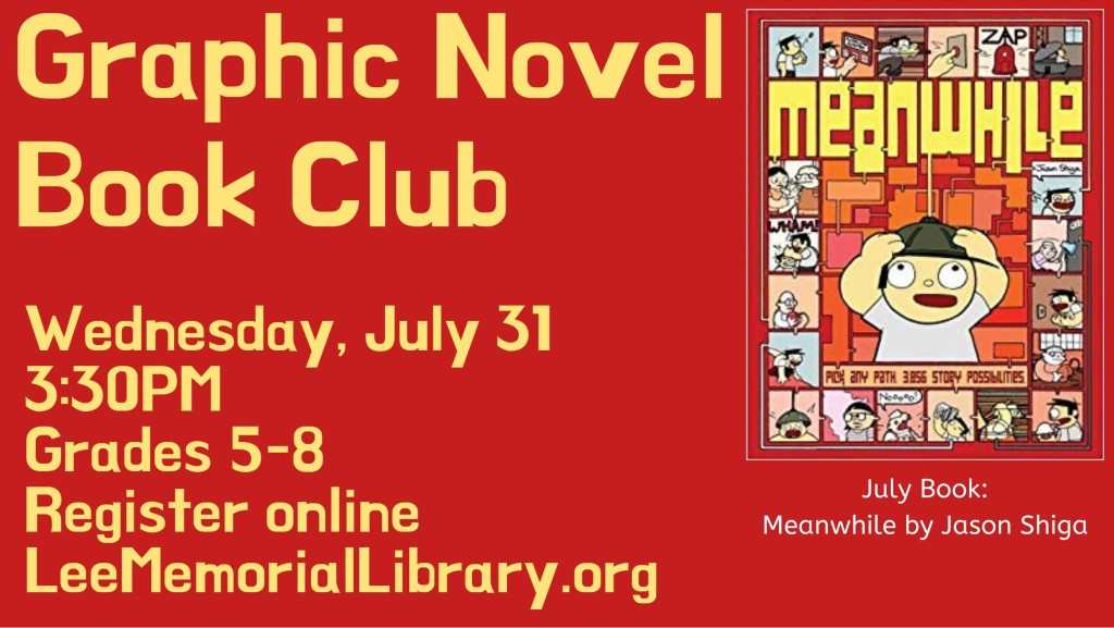 July Graphic Novel Club