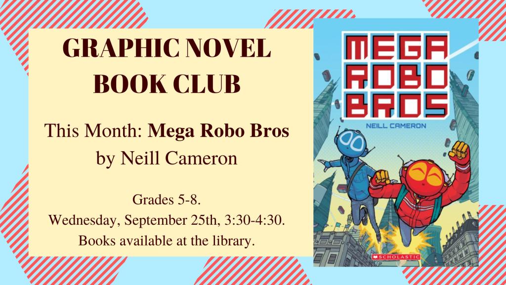 September Graphic Novel Club