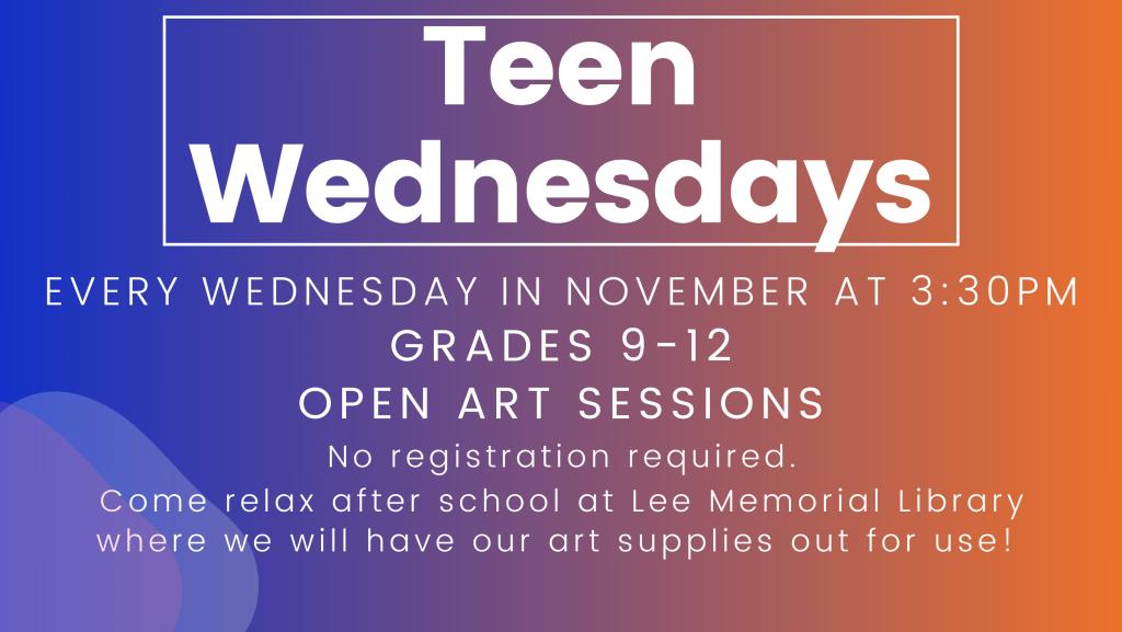 Teen Wednesdays