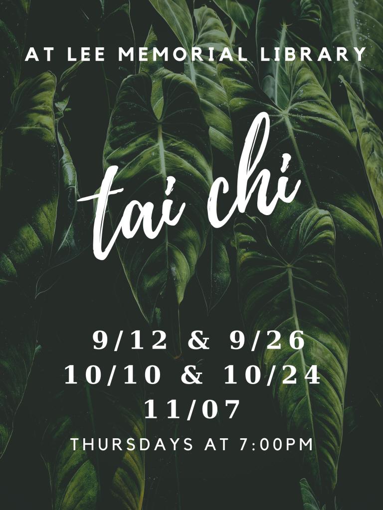 Tai Chi Fall 2019