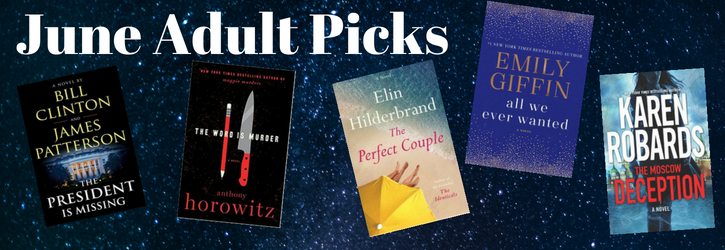 June Adult Picks