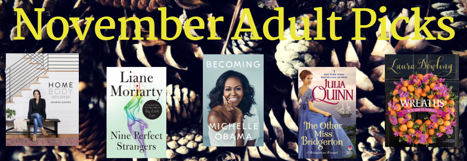 November Adult Picks