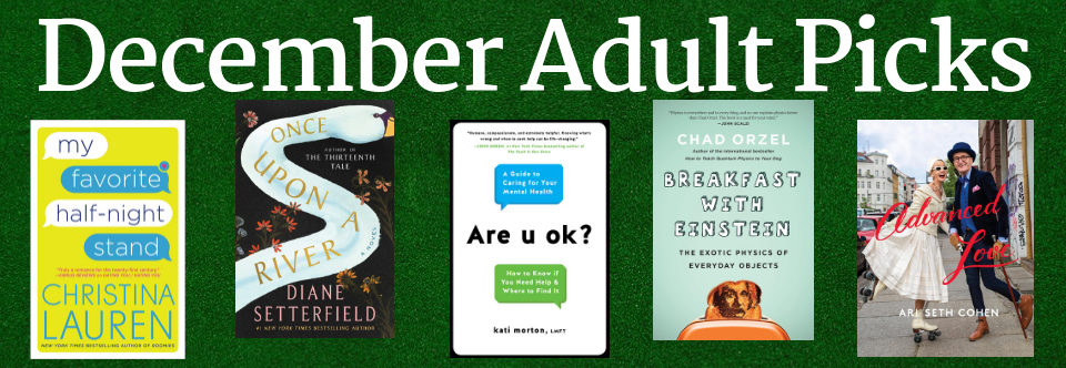 December Adult Picks