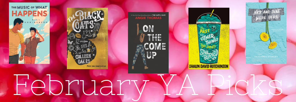 February 2019 Young Adult Picks