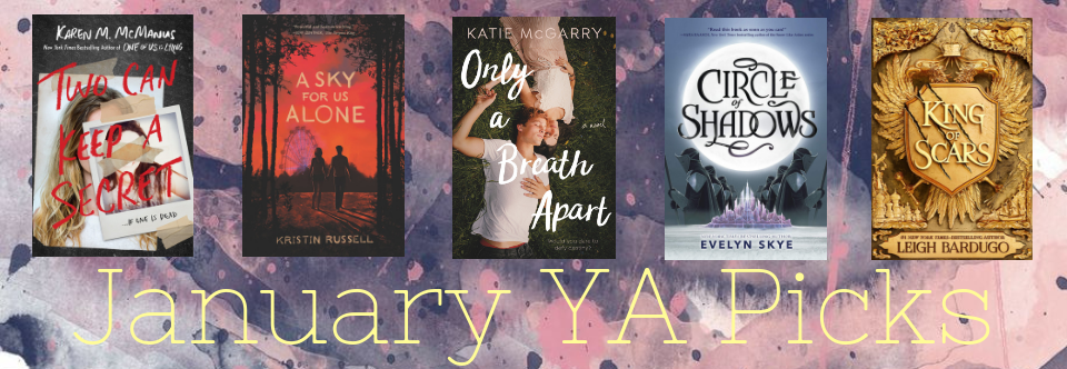 January YA Picks