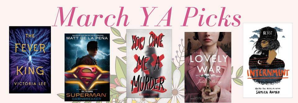 March YA Picks