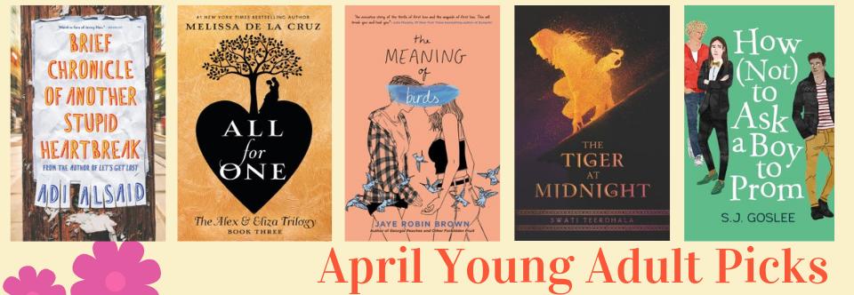 April 2019 Young Adult Picks