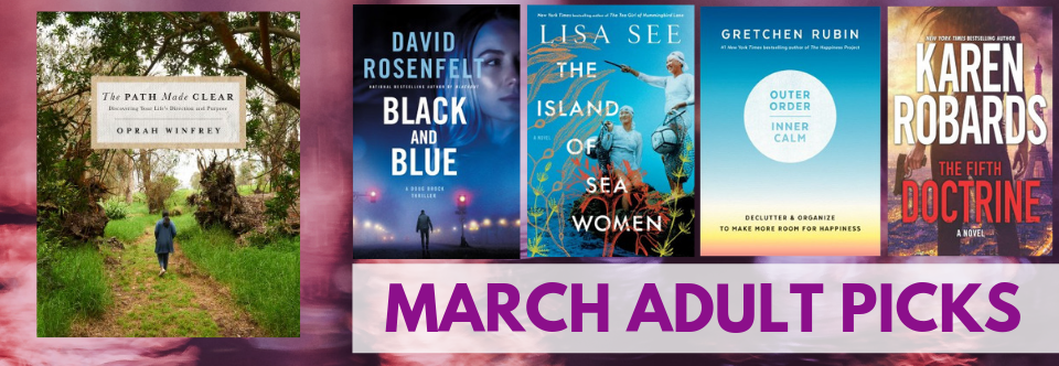 March Adult Picks