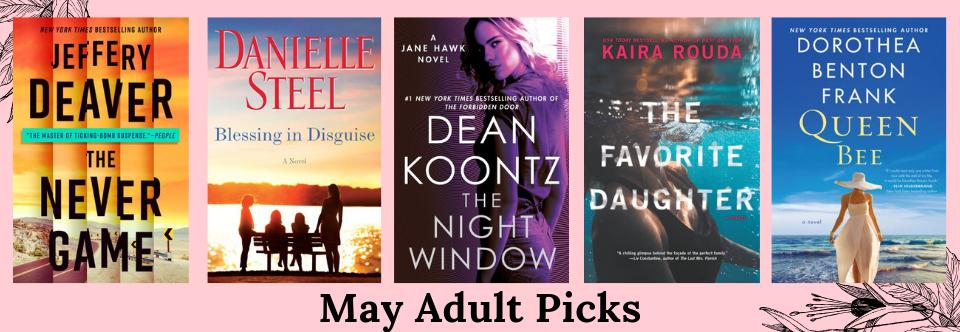 May 2019 Adult Picks