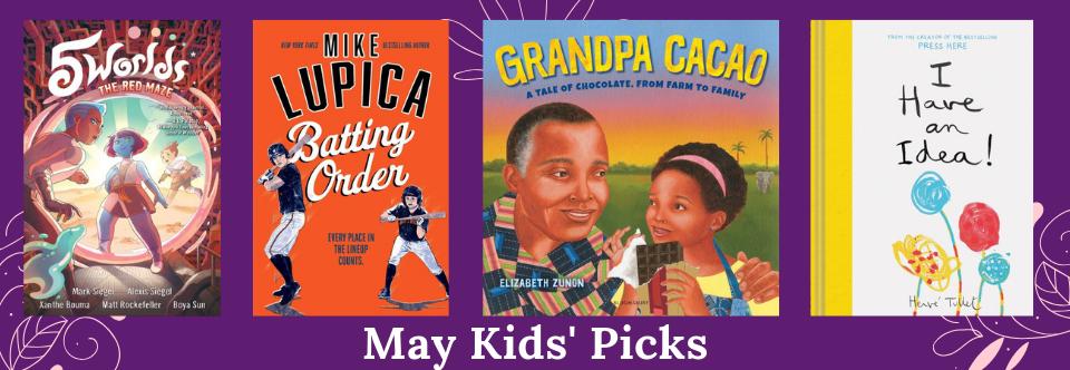 May 2019 Kid's Picks