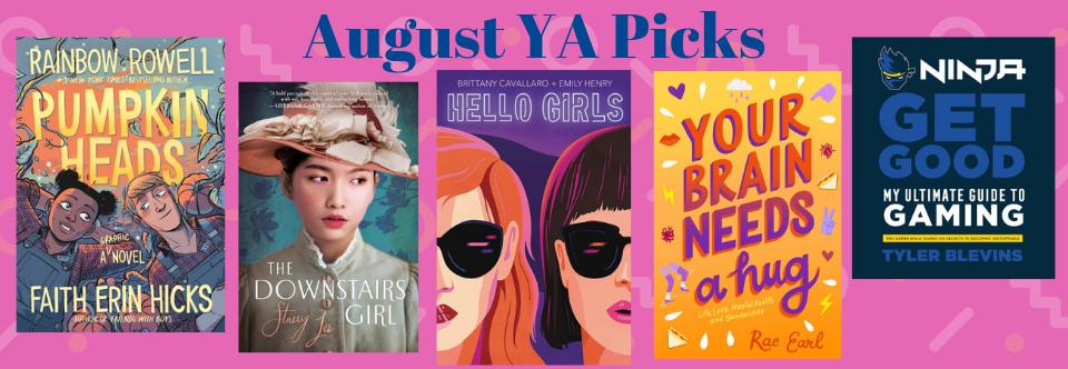 August YA Picks!