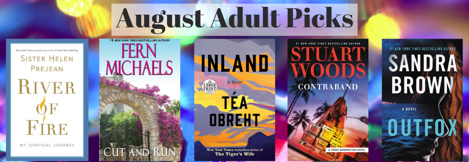 August 2019 Adult New Releases