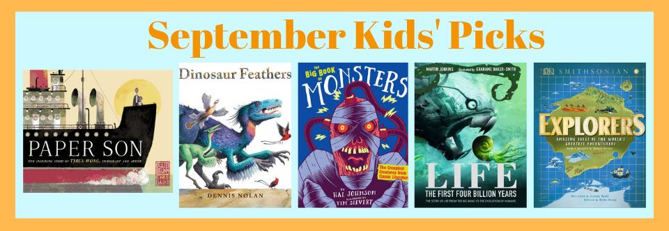 September 2019 Kids' Picks