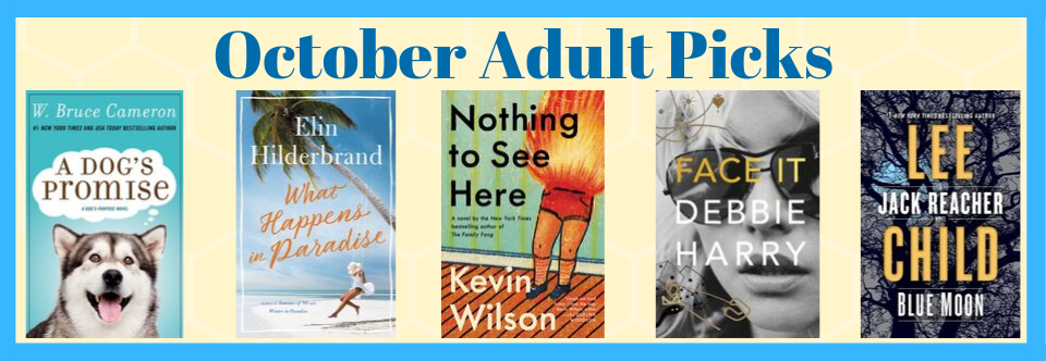 October Adult Picks