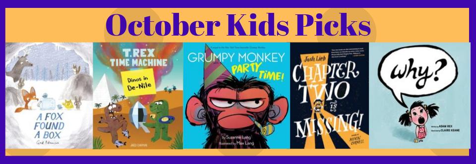 October Kid's Picks