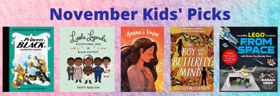 November 2019 Kids' Picks!