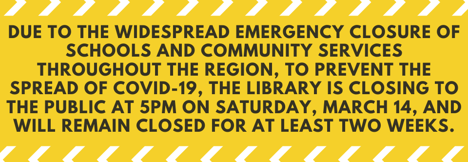Important Update From Lee Memorial Library – LIBRARY CLOSING