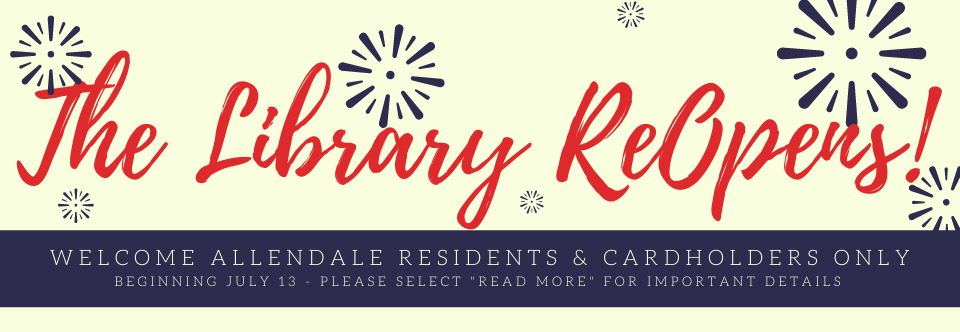 The Library Reopens With Expanded Services