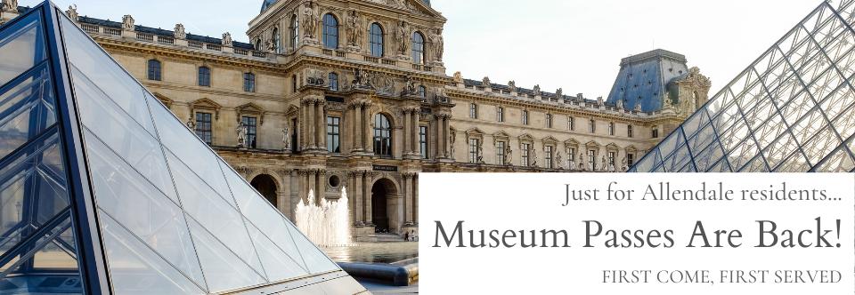 Museum Passes Return