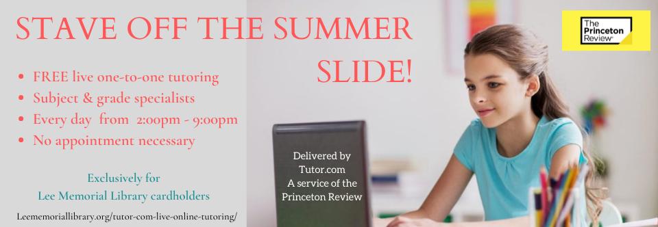 Stave Off the Summer Slide